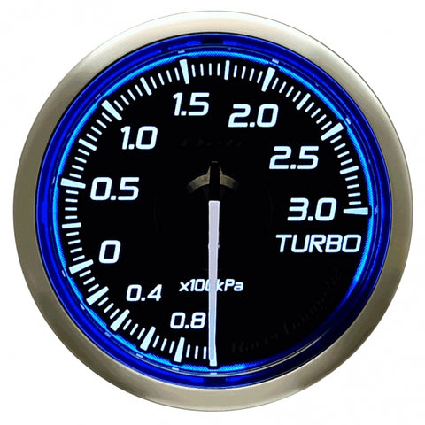Defi Racer Gauge N2 Blue (52mm) - Turbo 3.0