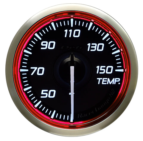 Defi Racer Gauge N2 Red (52mm) - Temperature