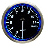 Defi Racer Gauge N2 Blue (52mm) - Exhaust Temperature