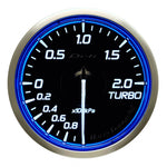Defi Racer Gauge N2 Blue (60mm) - Turbo 2.0