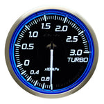 Defi Racer Gauge N2 Blue (60mm) - Turbo 3.0