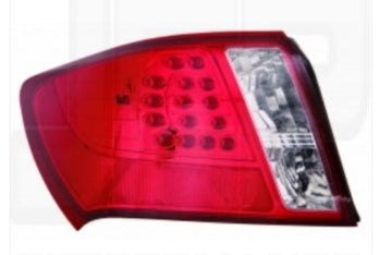 DEPO LED Red Tail Lights WRX STi GVF