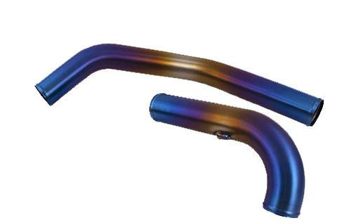 ETS Upper Titanium Intercooler Piping EVO X