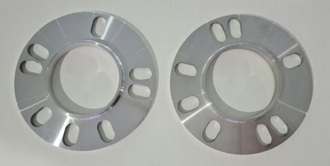 FIC HR Wheel Spacer Set 4H & 5H PCD 100~114.3 73 OD / 54 ID - 5mm