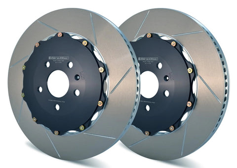 Girodisc 2pc Floating Rotors VW Golf 7R Front