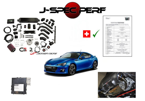 J-SPEC PERFORMANCE BRZ / GT86 Power Kit with Supercharger System