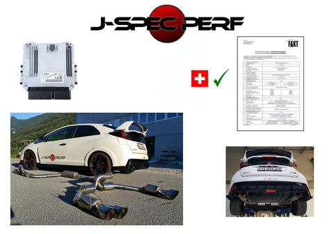 J-SPEC PERFORMANCE Civic Type-R FK2 Power Kit