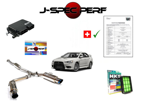 J-SPEC PERFORMANCE EVO X Power Kit