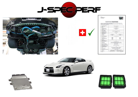 J-SPEC PERFORMANCE R35 GT-R Power Kit