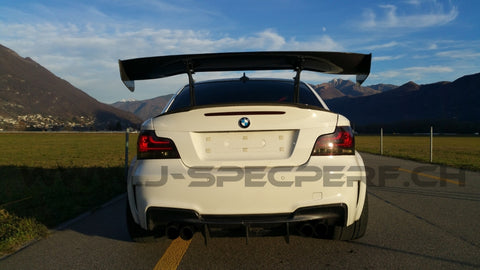 J-SPEC PERFORMANCE APR GTC 3D Carbon Wing BMW 1M E82