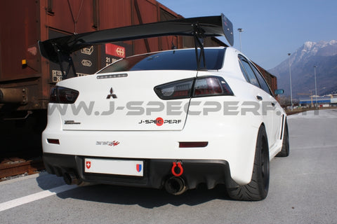 J-SPEC PERFORMANCE APR GTC 3D Carbon Wing EVO X / Lancer Ralliart