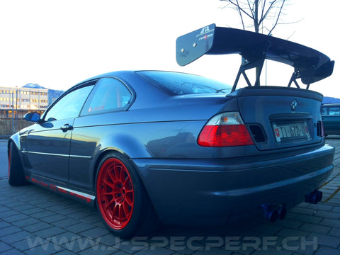 J-SPEC PERFORMANCE APR GTC 3D Carbon Wing M3 E46