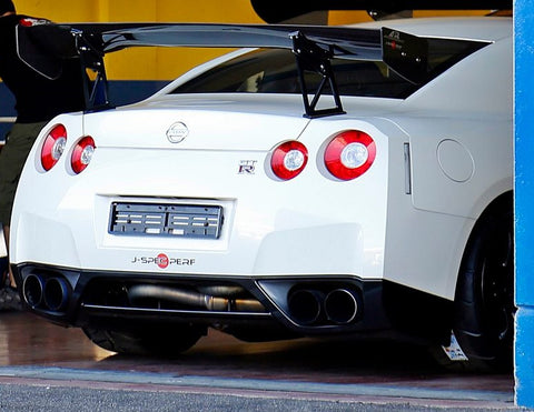 J-SPEC PERFORMANCE APR GTC 3D Carbon Wing R35 GT-R