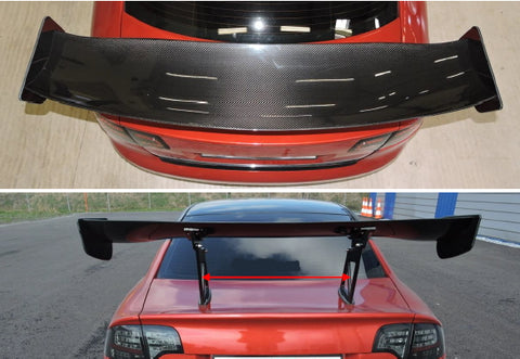 J-SPEC PERFORMANCE APR GTC 3D Carbon Wing Audi RS4 B6