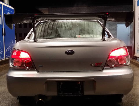 J-SPEC PERFORMANCE APR GTC 3D Carbon Wing Impreza GD 01-07