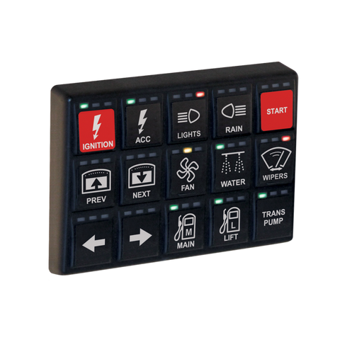 Motec 15 Position CAN Keypad