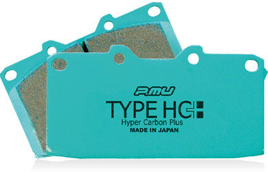 Project Mu HC+ Brake Pads Supra JZA80 / Celica ST205 GT4 - Rear