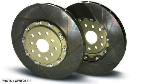 Project Mu SCR-GT Brake Rotors EVO X Front