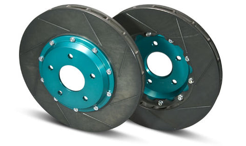 Project Mu SCR-PRO Brake Rotors WRX STi GDB / GDF (Brembo) Rear