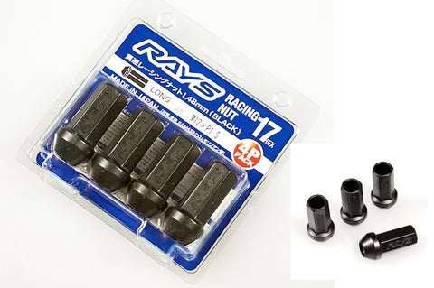 RAYS 17HEX L48 Racing Nut Set