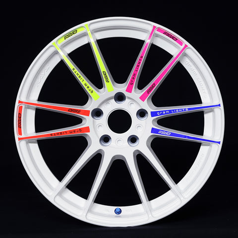RAYS Gram Lights 57XTREME Optional Spoke Stickers