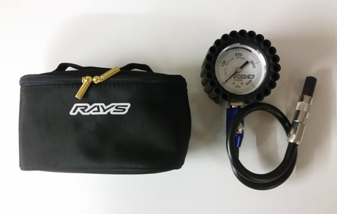 RAYS Racing Air Gauge
