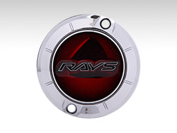 RAYS Gram Lights 57 Center Cap - Red
