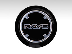 RAYS Gram Lights WR Center Cap - Black