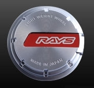 RAYS Gram Lights GL Center Cap - Red/Silver