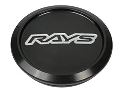 RAYS Volk Racing Center Cap Model-01 Low - Black / Silver