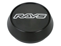 RAYS Volk Racing Center Cap Model-01 High - Black / Silver