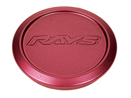 RAYS Volk Racing Center Cap Model-01 Low - Matte Red (MA)