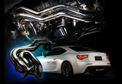 Tomei Expreme Exhaust Manifold Unequal Length BRZ / GT86