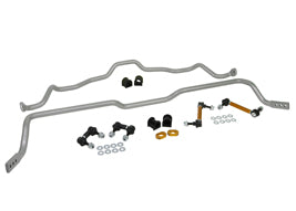 Whiteline Front and Rear Sway Bar Kit EVO 4/5/6