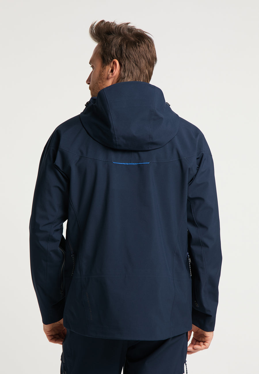 Skijacke Vertical in navy blue