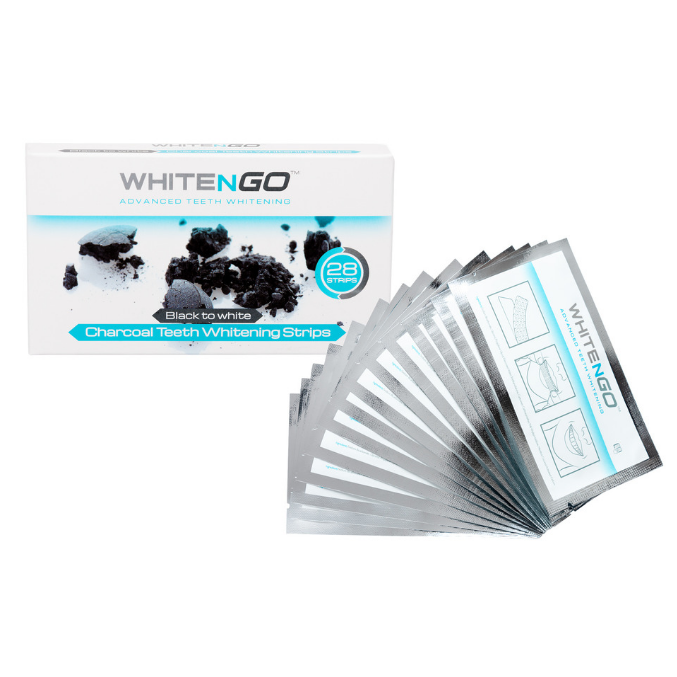 Charcoal Teeth Whitening Strips - WhiteNGoLabs