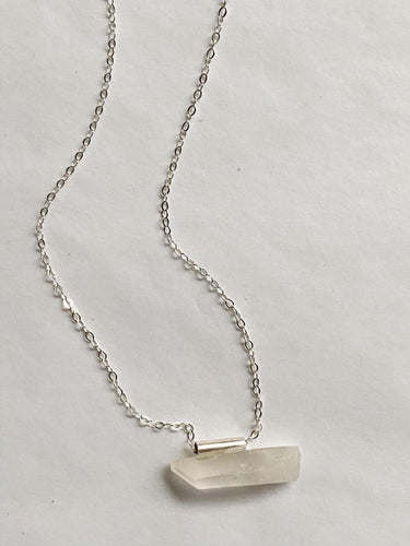 Clarity' Necklace (Clear Quartz)
