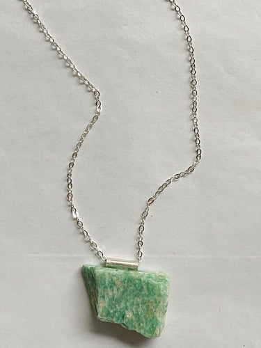Clarity' Necklace (Amazonite)