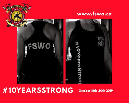 #10YearsStrong Tank Top