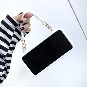 Crossbody Phone Case with long strap chain for iPhone