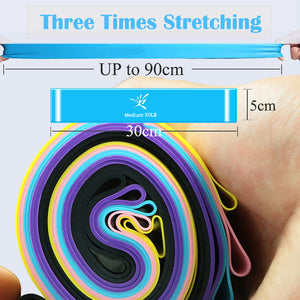 Resistant Elastic Rubber Bands for Fitness Workouts