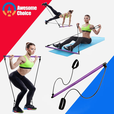 Resistance Bands - Tube Elastic Bands - Fitness Equipment