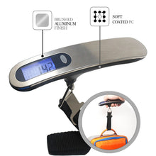 Load image into Gallery viewer, 110lb/50kg  Digital Mini Luggage Scale Portable Electronic Travel Scale