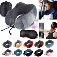 Load image into Gallery viewer, Memory Foam Pillow - U-Shape Travel Pillow