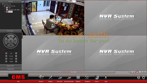 1080P LED Indoor Security CCTV System Video Surveillance HD Mini Cam P2P