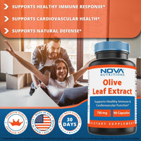Nova Nutritions Olive Leaf Extract 700 mg 90 Capsules