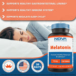 Nova Nutritions Melatonin 10 mg 120 Tablets