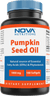 Nova Nutritions Pumpkin Seed Oil 1000 mg 180 Softgels
