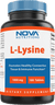 Nova Nutritions L-Lysine 1000 mg - 180 Tablets