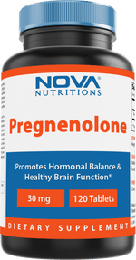 Nova Nutritions Pregnenolone 30 mg 120 Tablets